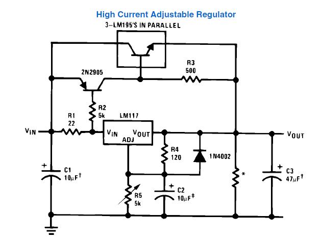 Schema Elettrico Riduttore Di Tensione Da 24v A 12v : Alimentatore stabilizzato regolabile con lm pitabum